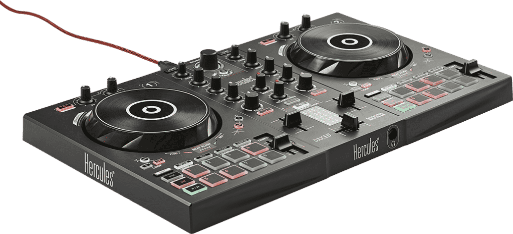 The Hercules Inpulse 300 DJ Controller