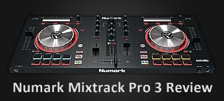 the numark mixtrack pro 3