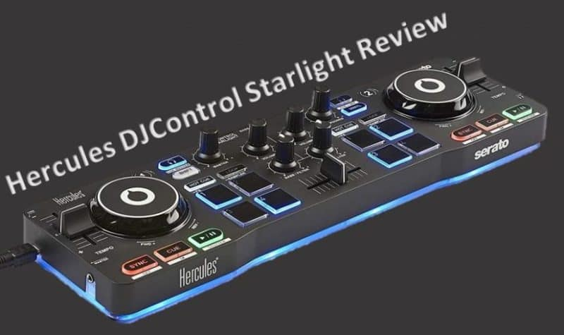 Hercules DJControl Starlight Review